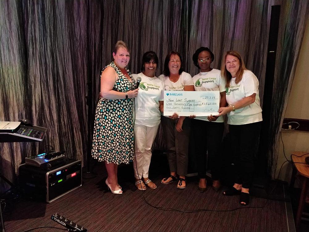 Fundraising cheque photo_01